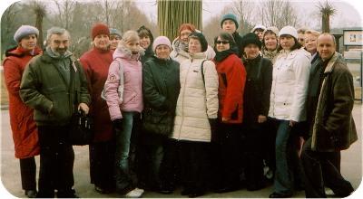 Aleksei Turovskiga loomaaias. Kliki suurendamiseks peale