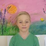 III koht 6 aastaste laste arvestuses Mikk Marten Hänni